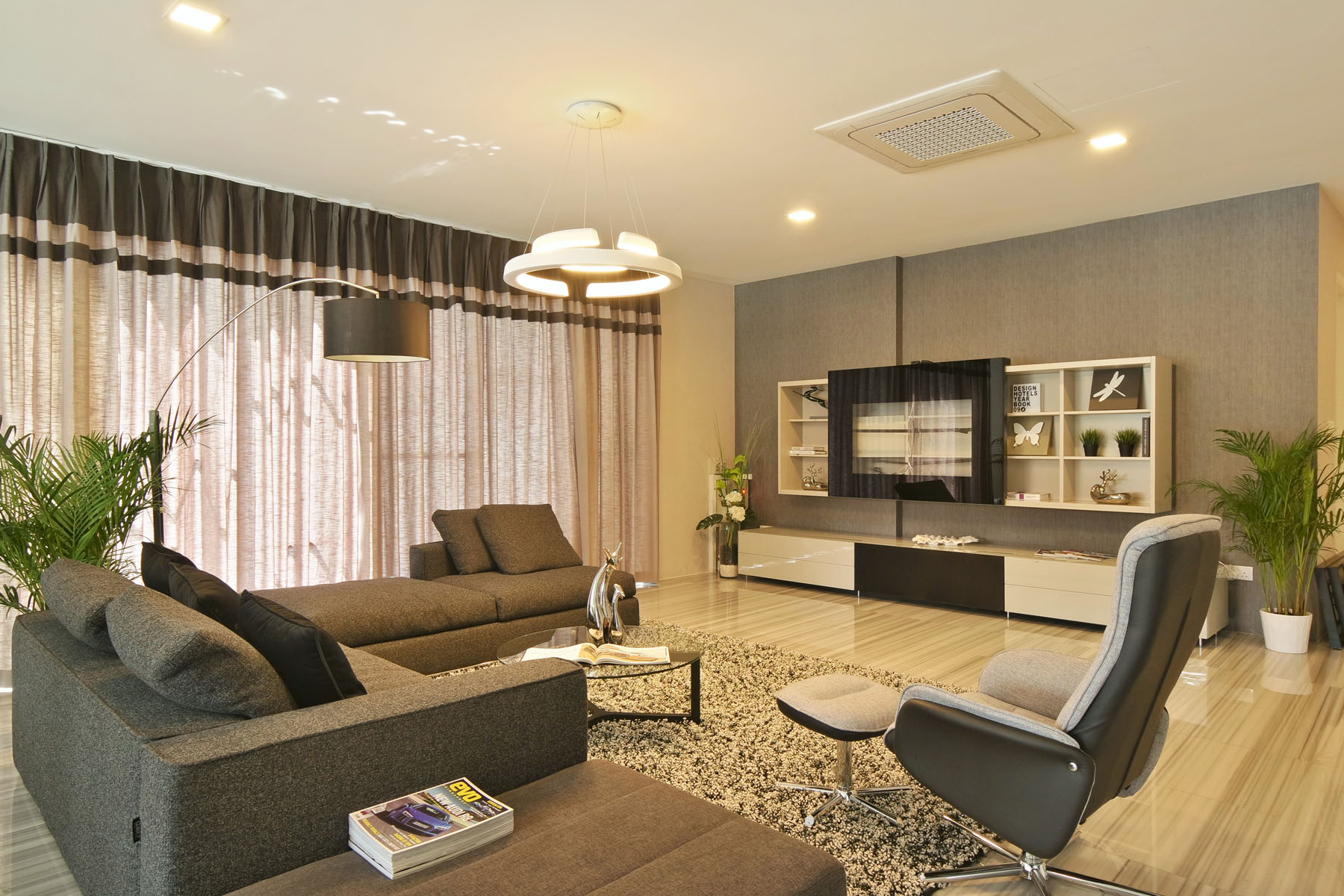 Living room decoration and design company singapore for Living room interior design singapore