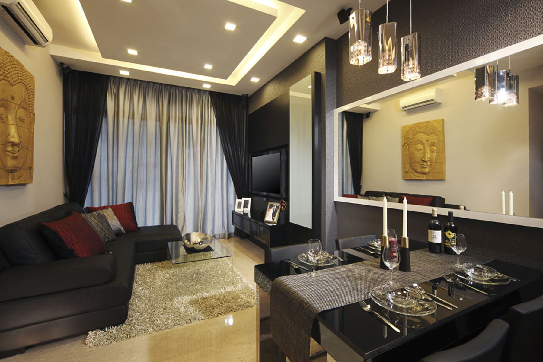 Extraordinary 30 Living Room Design Pictures Singapore Decorating Inspiration Of Contemporary