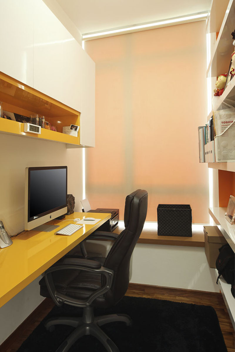 Work space and study room decoration