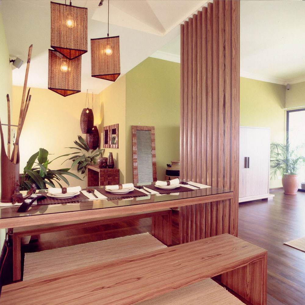 Dining room design and renovation in Singapore