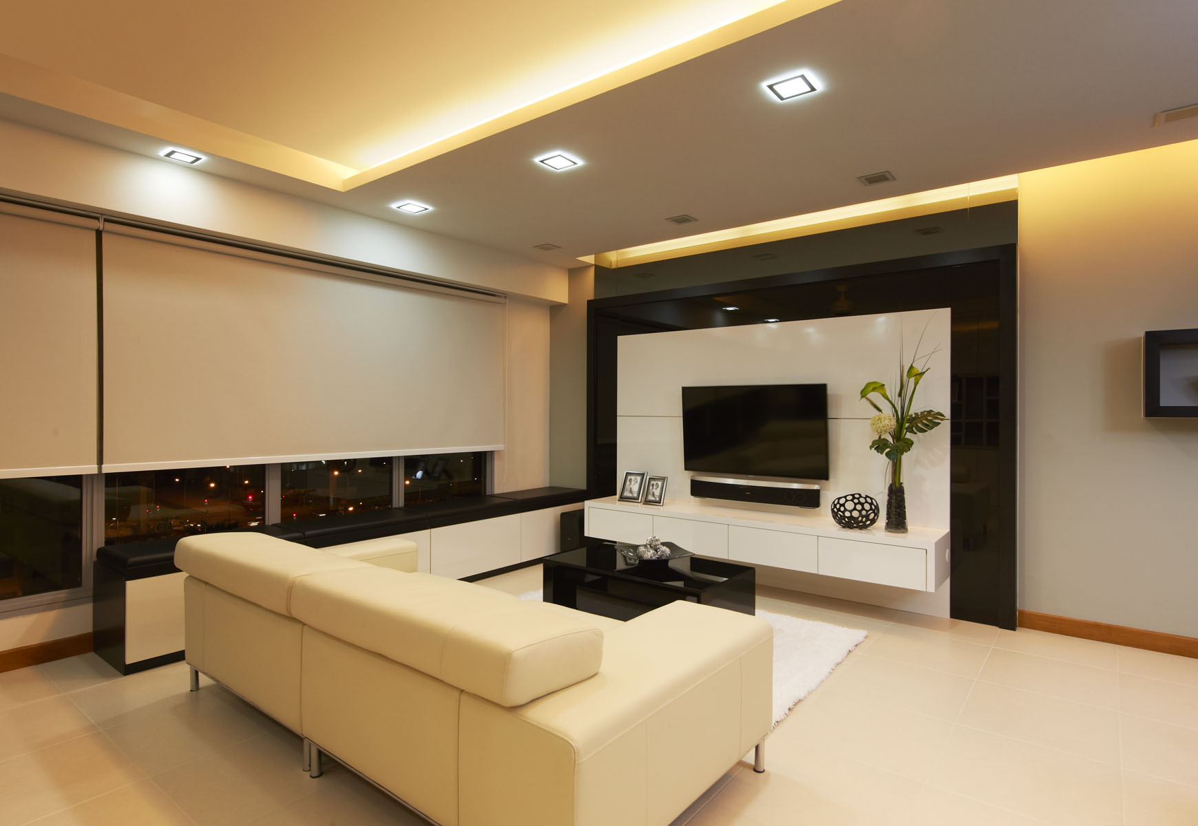 Modern living room by unimax