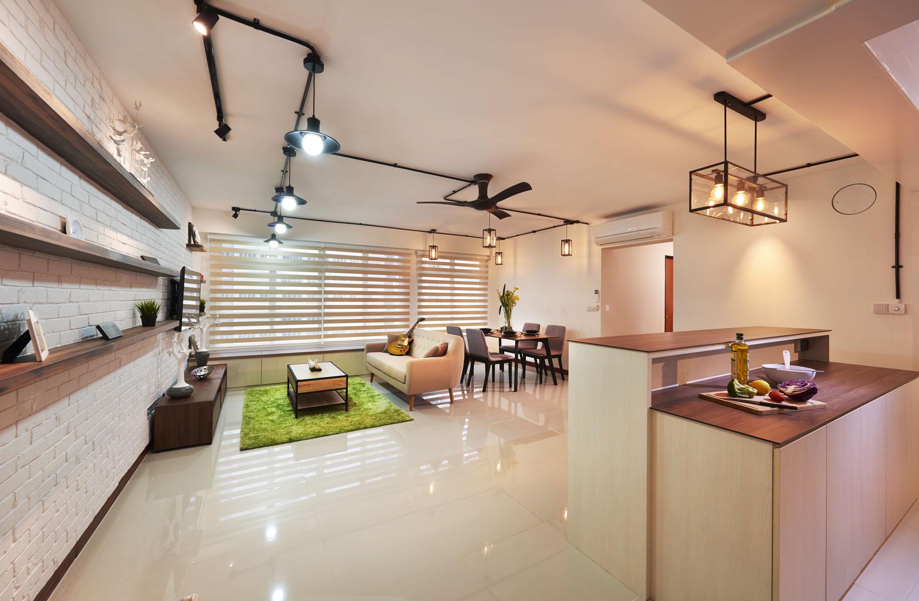 Living room design singapore for Design company singapore