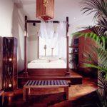 Master bed room decoration