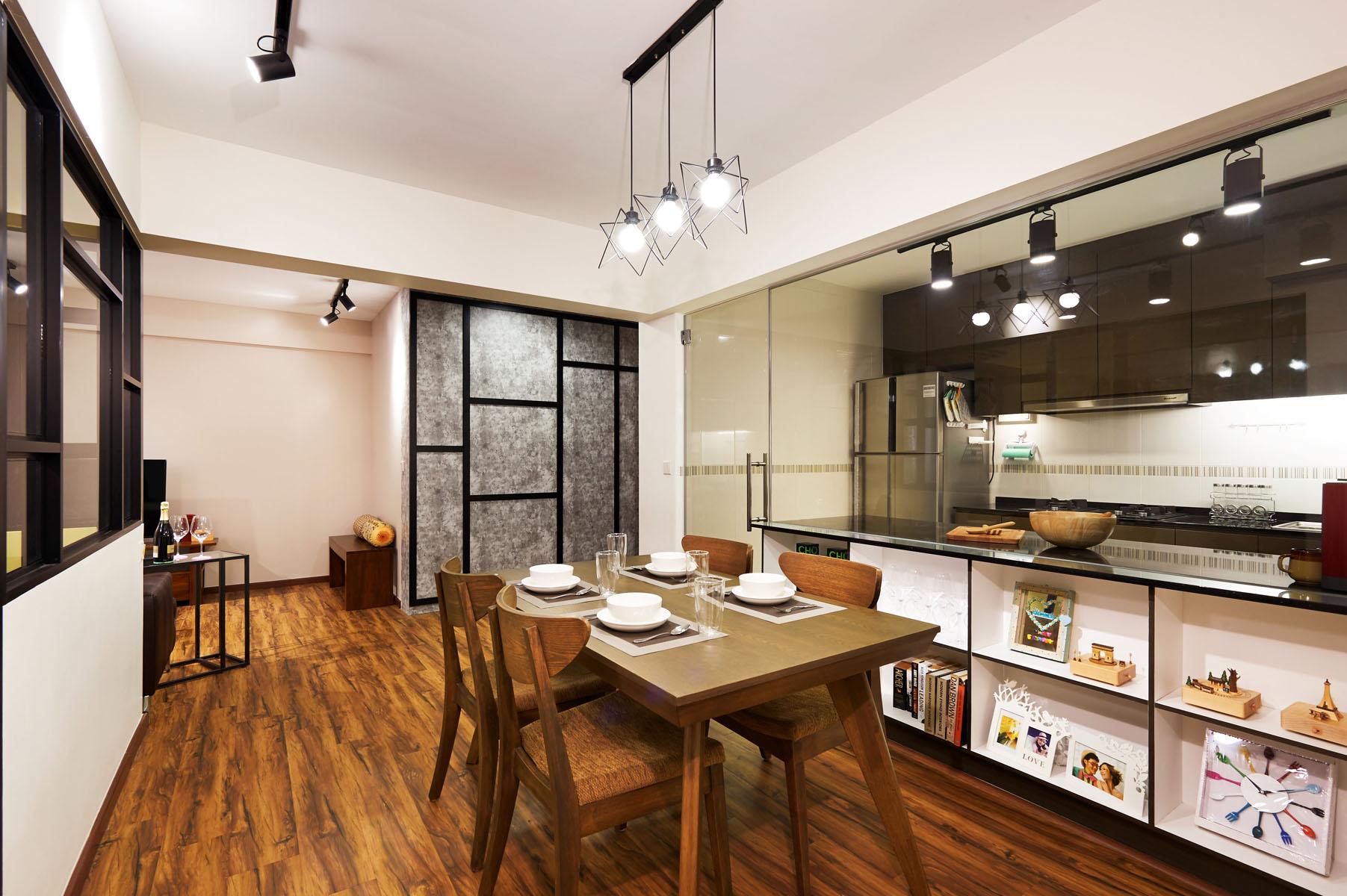 contemporary house decor Singapore
