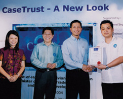 1st interior design firm to obtain CaseTrust accreditation, 2004